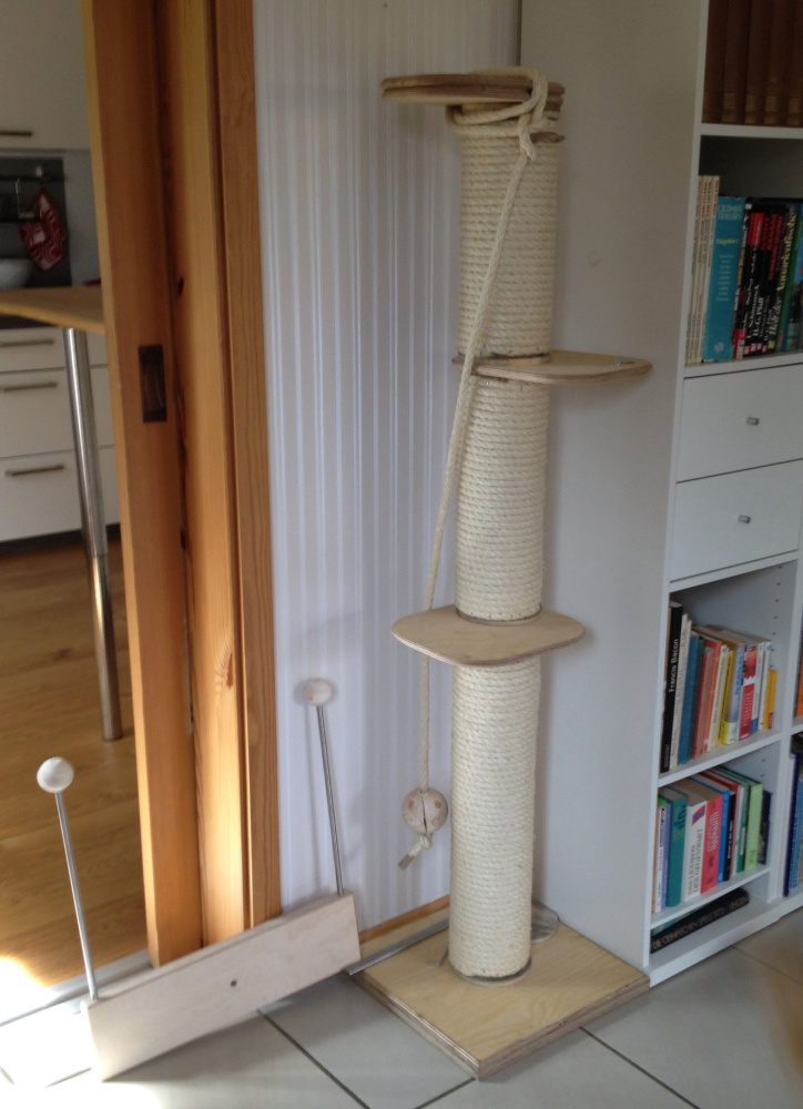 catwalk katzen selber bauen good katzen wand selber bauen best selber bauen kratzbaum with. Black Bedroom Furniture Sets. Home Design Ideas